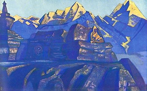 Tsong-Kha-Pa (Nicholas Röerich - 1924)