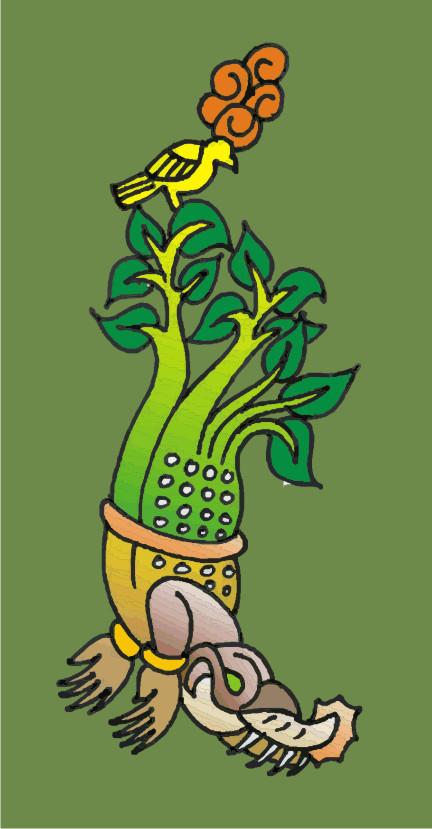 Árbol Maya de la Vida