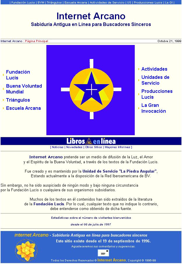 Internet Arcano 2.0 (1996–1997)