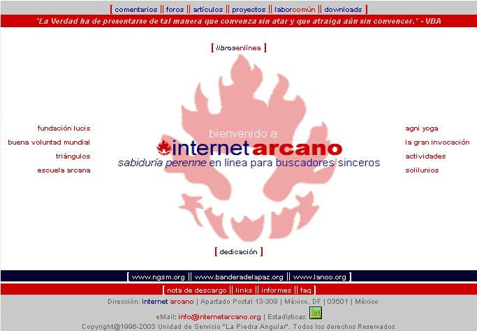 Internet Arcano 3.0 (2003–2005)
